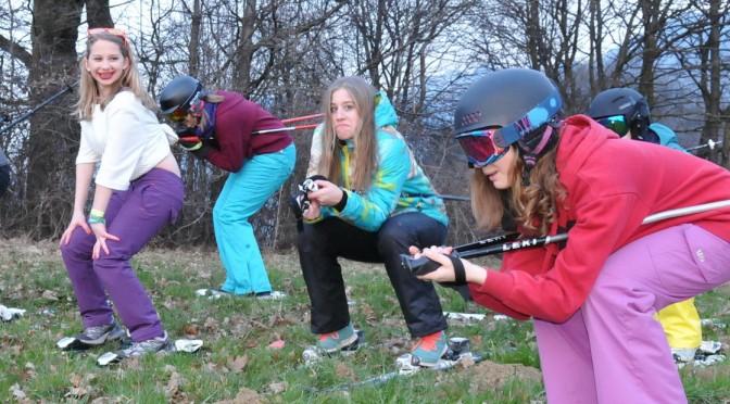 """""""Nacht-Skifahren"""" der Caravelles & Explorer"""