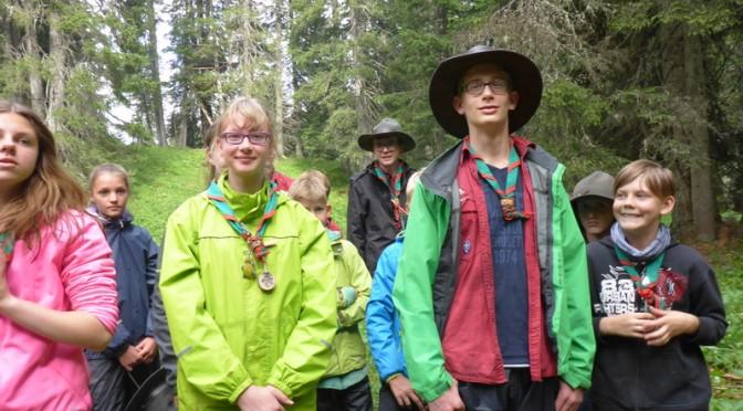 Sommerlager der Guides & Späher