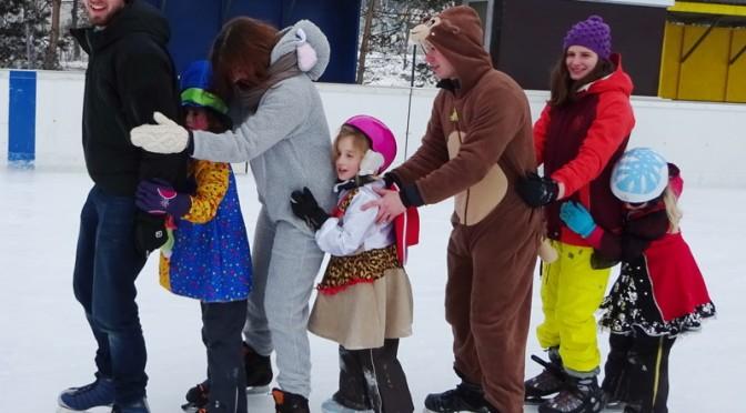 Wichtel+Wöflinge: Eislaufen