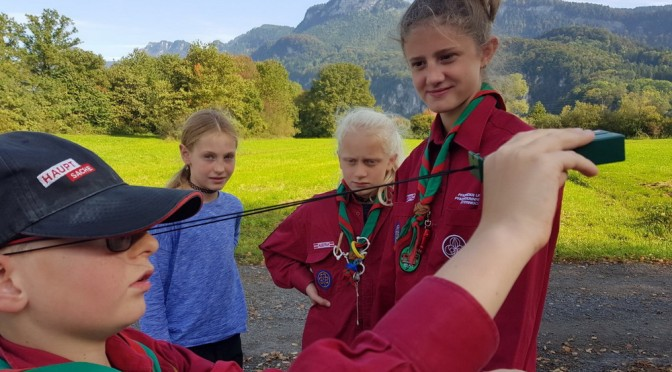 Kornettenlager der Guides+Späher
