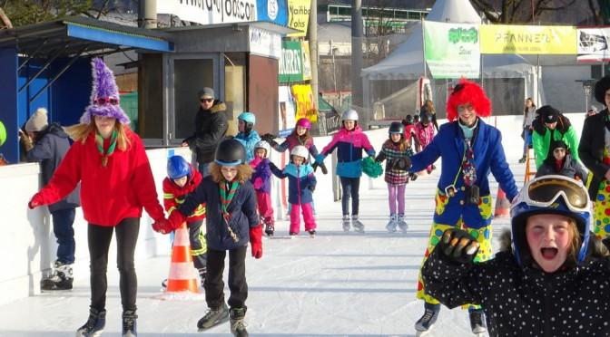 Wichtel + Wölflinge: Eislaufen