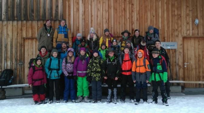 Winterwanderlager der Guides+Späher