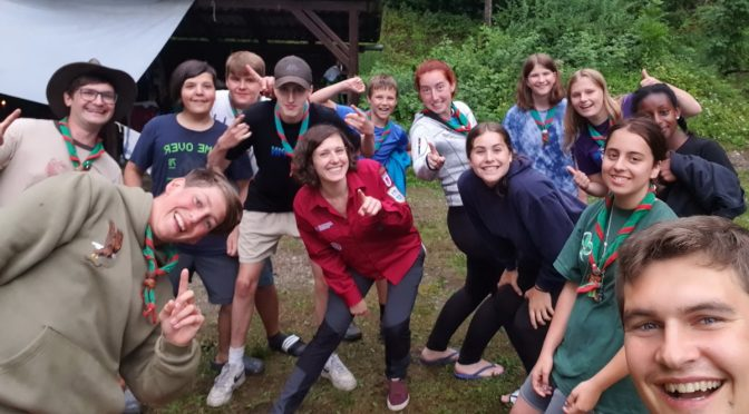 Sommerlager der Caravelles+Explorer