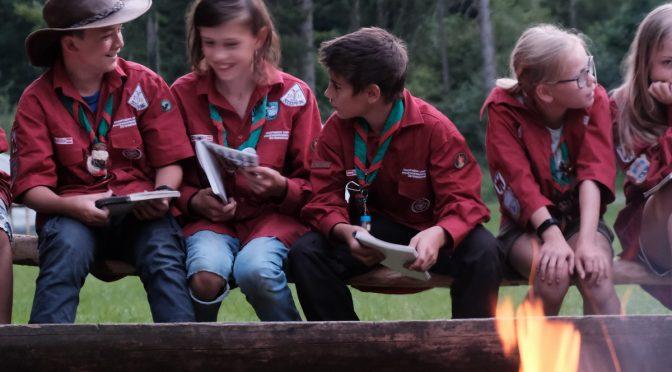 Sommerlager der Guides+Späher